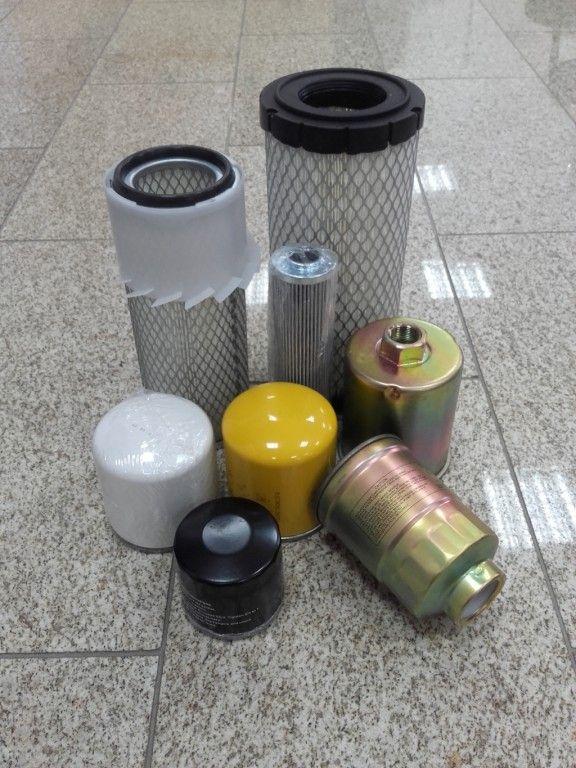 Šakinių krautuvų oro filtrai