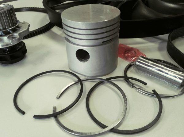 Šakinių krautuvų variklių dalys žiedai