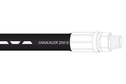 Žarna CANALKLER su antgaliais skirta hidrodinaminėms mašinoms.