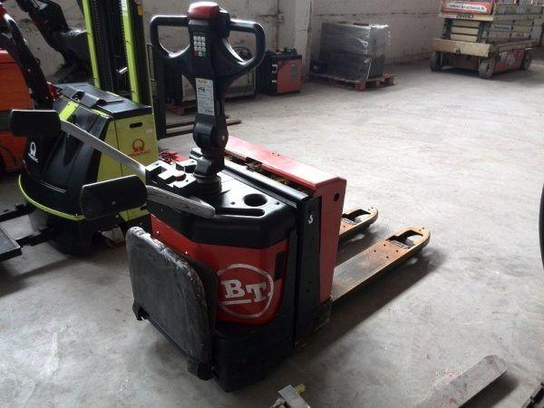 Elektrinis palečių vežimėlisBT LPE200-8 naudotas