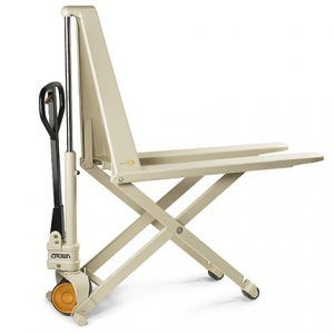 Rankinis žirklinis palečių vežimėlis PTH50s