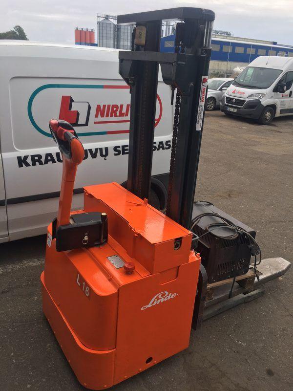 Elektrinis paletinis vežimėlis Linde L16