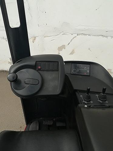 Naudotas elektrinis rietuvas Linde R14S