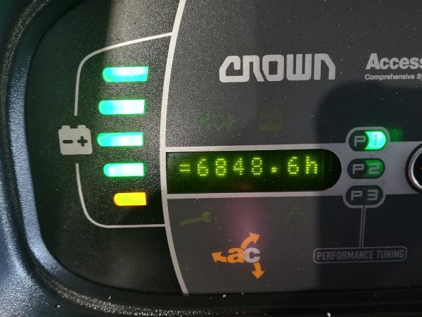 Elektrinis palečių vežimėlis Crown WT 3040