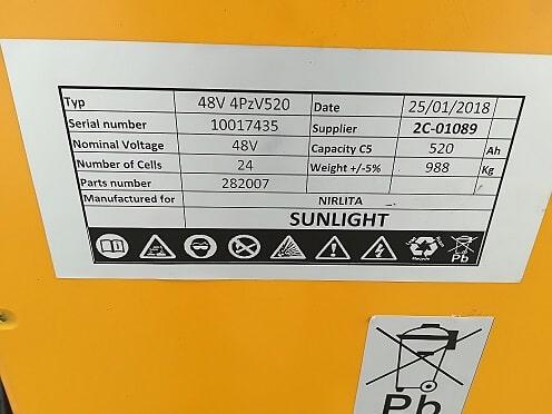 Naudotas elektrinis štabeliuotuvas LINDE R14S (2)
