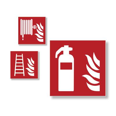 Gaisrinės saugos ženklai