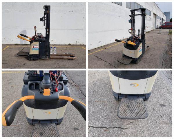 Elektrinis palečių vežimėlis Crown ETi4000-1.4